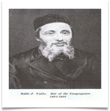 First Rabbis of the congreation 2