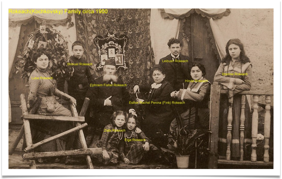 Rokeach family labeled