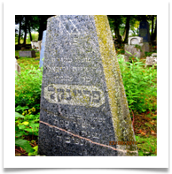 The Frenkel grave